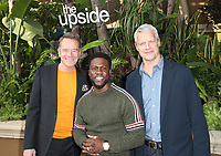 "30 October 2018 - Beverly Hills, California - Bryan Cranston, Kevin Hart, Neil Burger. ""The Upside"" Photo Call held at The Four Seasons Beverly Hills. Photo Credit: Faye Sadou/AdMedia"