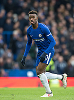 Callum Hudson-Odoi of Chelsea during the Premier League match between Chelsea and Tottenham Hotspur at Stamford Bridge, London, England on 1 April 2018. Photo by Andy Rowland.