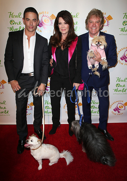 "05 October 2017 - Los Angeles, California - Dr. John Sessa, Lisa Vanderpump, Ken Todd. ""The Road To Yulin And Beyond"" Los Angeles Premiere. Photo Credit: F. Sadou/AdMedia"