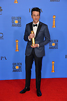 LOS ANGELES, CA. January 06, 2019: Justin Hurwitz at the 2019 Golden Globe Awards at the Beverly Hilton Hotel.<br /> Picture: Paul Smith/Featureflash
