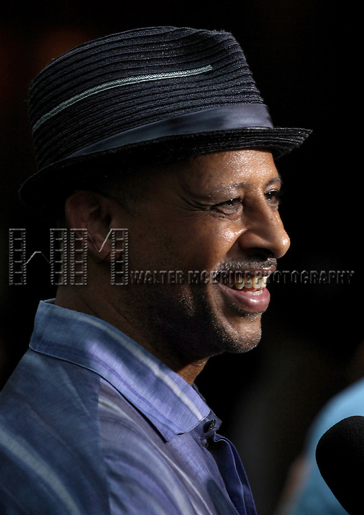 Actor Ruben Santiago-Hudson attending the Opening Night Performance of The Public Theater's 'InTo The Woods' at the Delacorte Theater in New York City on 8/9/2012. © Walter McBride/WM Photography