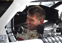 May 1, 2009; Richmond, VA, USA; NASCAR Sprint Cup Series driver Scott Riggs during practice for the Russ Friedman 400 at the Richmond International Raceway. Mandatory Credit: Mark J. Rebilas-