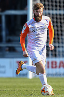 Patrick McCourt of Luton Town during the Sky Bet League 2 match between Barnet and Luton Town at The Hive, London, England on 28 March 2016. Photo by David Horn.