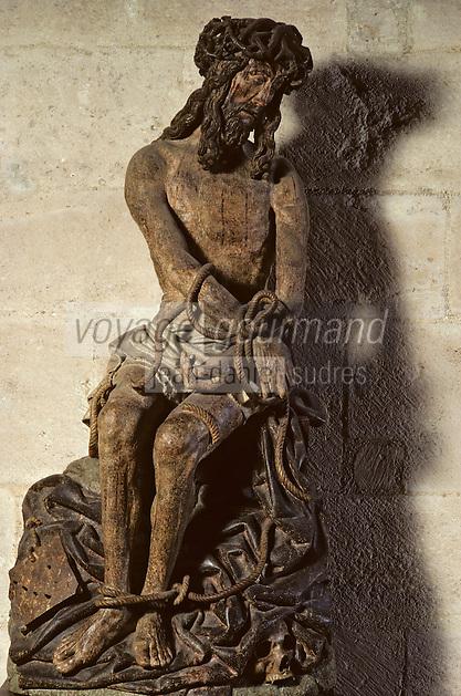 Europe/France/Bourgogne/21/Côte-d'Or/Beaune: Les hospices de Beaune - Salle des pauvres - Le Christ [Non destiné à un usage publicitaire - Not intended for an advertising use]