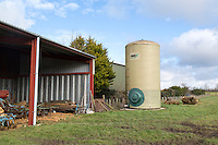 On farm fertilser storage tanks - Norfolk, February