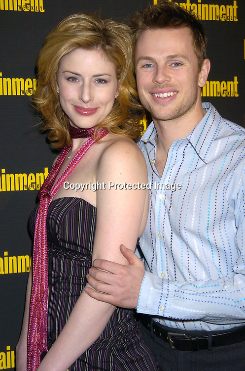 Diane Neal and fiance Marcus Fitzgerald ..at the 11th Annual Entertainment Weekly Oscar Party on ..Februaty 27, 2005 at Elaine's in New York City. ..Photo by Robin Platzer, Twin Images