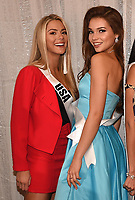 BANGKOK, THAILAND - DECEMBER 15: 2018 MISS UNIVERSE: L-R: Miss USA Sarah Rose Summers and Miss Russia Yulia Polyachikhina during rehearsals for the 2018 MISS UNIVERSE competition at the Impact Arena in Bangkok, Thailand on December 15, 2018. Miss Universe will air live on Sunday, Dec. 16 (7:00-10:00 PM ET live/PT tape-delayed) on FOX.  (Photo by Frank Micelotta/FOX/PictureGroup)