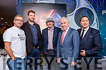 Naoise Barry, martin Joy, Mike O'Shea, Minister Jimmy Deenihan and Mally Chung  at the Premiere of the Star Wars The Force Awakens in Killarney Cinema on Thursday