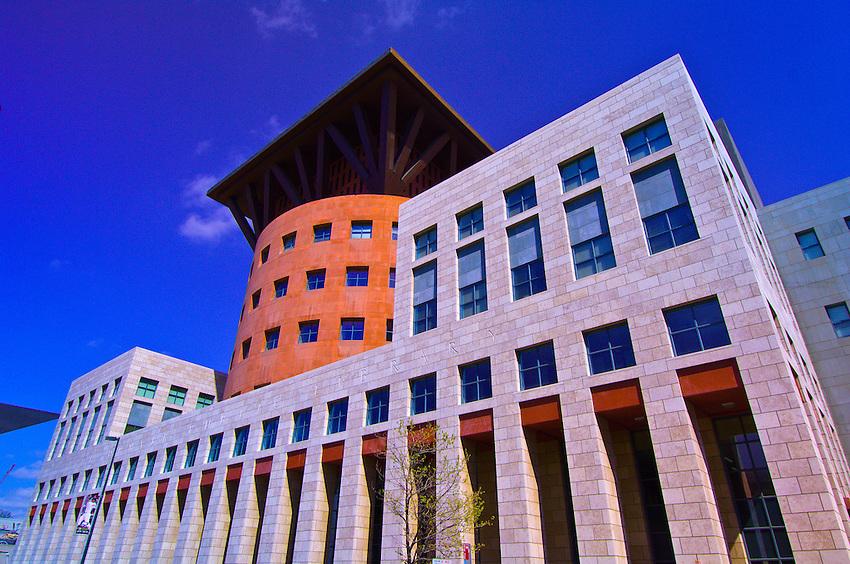 Denver Central Library, Civic Center Cultural Complex, Denver, Colorado USA
