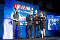 Picture by Allan McKenzie/SWpix.com - 25/09/2018 - Rugby League - Betfred Championship & League 1 Awards Dinner 2018 - The Principal Manchester- Manchester, England - Championship Club of the Year awarded to Toronto Wolfpack, Brian Noble.