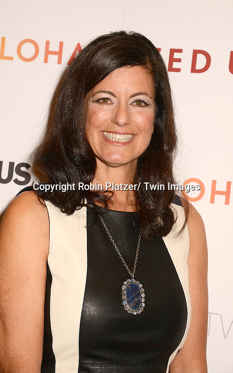 "Laurie David attends the New York Premiere of ""FED UP"" on May 6, 2014 at The Museum of Modern Art in New York City."