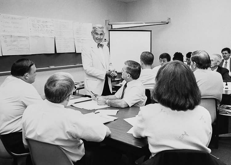 Audit course, planning, managing and reporting for audit at United States Department of Agriculture on Aug. 2, 1990. (Photo by Maureen Keating/CQ Roll Call via Getty Images)