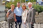 Pictured at the 75th Anniversary Air Show in Foynes on Sunday Gillian Fry, Dublin, Brigadier General Paul Fry, Dublin, Geraldine James, Kildare and Major General Ralph James, Kildare.