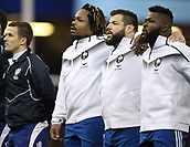 17th March 2018, Principality Stadium, Cardiff, Wales; NatWest Six Nations rugby, Wales versus France; Mathieu Bastareaud of France during the singing of the anthem