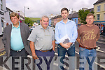 Kenmare business men who attended the Killorglin Area Meeting recently to discuss the trading and parking situation in the town. .L-R Mick O'Sullivan, Bertie MsSweeney, ??