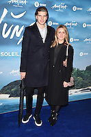 Toby Huntington Whiteley<br /> at the Cirque du Soleil &quot;Amaluna&quot; 1st night, Royal Albert Hall, Knightsbridge, London.<br /> <br /> <br /> &copy;Ash Knotek  D3218  12/01/2017