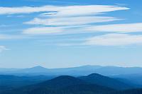 Mountain peaks of Crater Lake National Park, Oregon