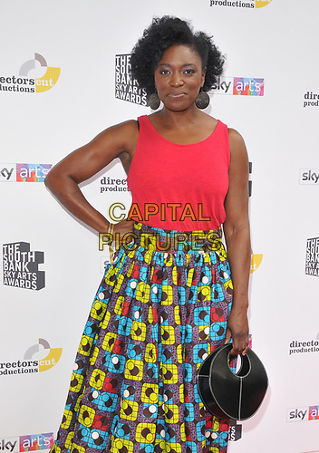 Andi Osho at the South Bank Sky Arts Awards 2019, The Savoy Hotel, The Strand, London, England, UK, on Sunday 07th July 2019.<br /> CAP/CAN<br /> ©CAN/Capital Pictures