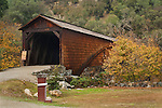 Bridgeport Covered Bridge, South Yuba River State Park, Nevada County, California
