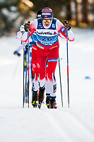 1st January 2020, Toblach, South Tyrol , Italy;  Paal Golberg of Norway competes in the mens 15 km classic technique pursuit during Tour de Ski on January 1, 2020 in Toblach.