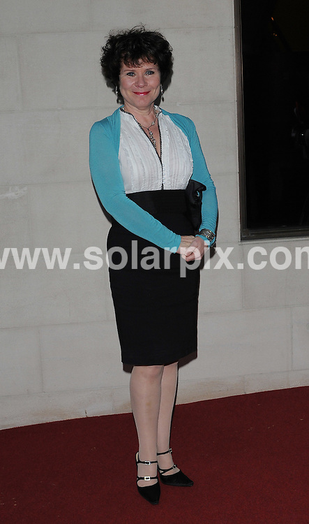 **ALL ROUND PICTURES FROM SOLARPIX.COM**.**WORLDWIDE SYNDICATION RIGHTS**.Red carpet arrivals for the 2009 Laurence Olivier (Theatre) Awards. Grosvenor House, London, UK. 8 March 2009..This pic: Imelda Staunton..JOB REF: 8615 BTT      DATE: 08_03_2009.**MUST CREDIT SOLARPIX.COM OR DOUBLE FEE WILL BE CHARGED**.**ONLINE USAGE FEE GBP 50.00 PER PICTURE - NOTIFICATION OF USAGE TO PHOTO @ SOLARPIX.COM**.**CALL SOLARPIX : +34 952 811 768 or LOW RATE FROM UK 0844 617 7637**