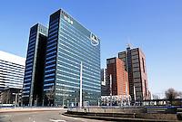 Kantoren in het Beatrixkwartier in Den Haag. Post NL kantoor