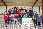 Follow UR Dreams winner of the Maurice Cahill Memorial Cup at the Listowel Coursing Club on Sunday Owner Aoife Curtin