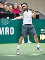 14-02-13, Tennis, Rotterdam, ABNAMROWTT,Marcos Baghdatis