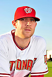 28 February 2010: Washington Nationals starting pitcher Ryan Mattheus poses for his Spring Training photo at Space Coast Stadium in Viera, Florida. Mandatory Credit: Ed Wolfstein Photo