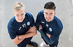 St Johnstone&rsquo;s Ally McCann (left) and Greg Hurst who have signed new contracts keeping them at McDiarmid Park for another season&hellip;04.05.18<br />Picture by Graeme Hart.<br />Copyright Perthshire Picture Agency<br />Tel: 01738 623350  Mobile: 07990 594431