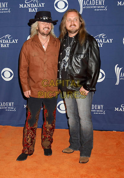 ZANDT BROTHERS.The 40th Annual Academy of Country Music Awards (ACM) held at Mandalay Bay Resort & Casino, Las Vegas, Nevada, USA, 17th May 2005..full length cowboy hat.Ref: ADM.www.capitalpictures.com.sales@capitalpictures.com.©Laura Farr/AdMedia/Capital Pictures.