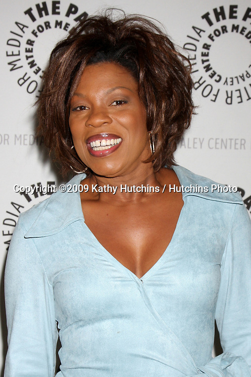 """Lorraine Toussaint  arriving at the """"Saving Grace"""" Event at the Paley Center for Media in Beverly Hills , CA on June 13, 2009.  .©2009 Kathy Hutchins / Hutchins Photo"""