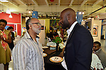 MIAMI, FL - DECEMBER 05: Judge Fred Seraphin and Actor Jimmy Jean-Louis attends the NE2P Art Beat Miami Chef Creole Celebrity Brunch at the Little Haiti Cultural Center on Saturday December 05, 2015 in Doral, Florida.  ( Photo by Johnny Louis / jlnphotography.com )