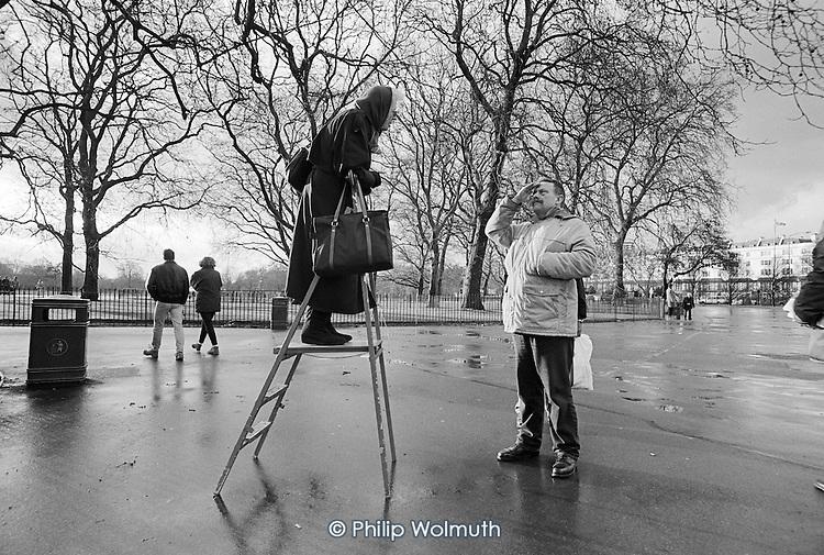 The Catholic Evidence Guild.  Speakers' Corner, Hyde Park, London; 1995.
