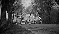 lead group up Casselberg..74th Gent-Wevelgem (2012).236km between Deinze & Wevelgem.winner 2012: Tom Boonen..