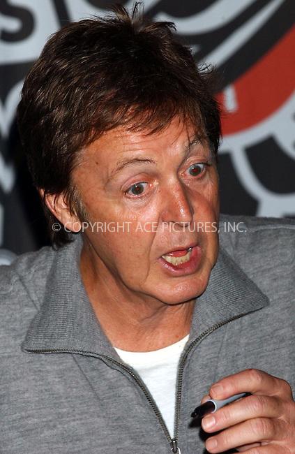 WWW.ACEPIXS.COM . . . . . ....November 13, 2006, New York City. ....Sir Paul McCartney Signs Copies of his new Concert DVD 'The Space Within Us' at Virgin Megastore Times Square.....Please byline: KRISTIN CALLAHAN - ACEPIXS.COM.. . . . . . ..Ace Pictures, Inc:  ..(212) 243-8787 or (646) 769 0430..e-mail: info@acepixs.com..web: http://www.acepixs.com