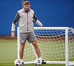 18.09.2019 Rangers training: Steven Gerrard