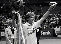 1987, Tennis, Rotterdam, ABN Tennis, Winner Steffan Edberg