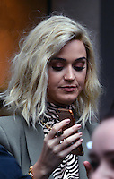 www.acepixs.com<br /> <br /> February 21 2017, London<br /> <br /> Singer Katy Perry made an appearance at the studios of BBC Radio One on February 21 2017 in London<br /> <br /> By Line: Famous/ACE Pictures<br /> <br /> <br /> ACE Pictures Inc<br /> Tel: 6467670430<br /> Email: info@acepixs.com<br /> www.acepixs.com