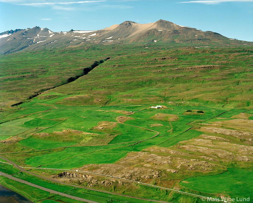 Vaglir séð til vesaturs, Eyjafjarðarsveit áður Hrafnagilshreppur / Vaglir viewing west, Eyjafardarsveit former Hrafnagilshreppur