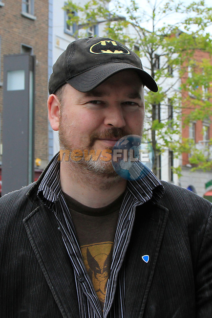 Frank Kelly.vox pop 14/6/12.Picture: Fran Caffrey/ www.newsfile.ie.