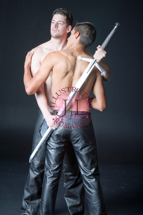 M/M themed images for romance novel book covers by Jenn LeBlanc for Illustrated Romance and #StudioSmexy