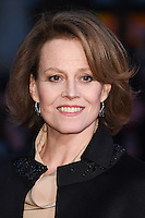 "Sigourney Weaver<br /> at the London Film Festival premiere for ""A Monster Calls"" at the Odeon Leicester Square, London.<br /> <br /> <br /> ©Ash Knotek  D3162  06/10/2016"