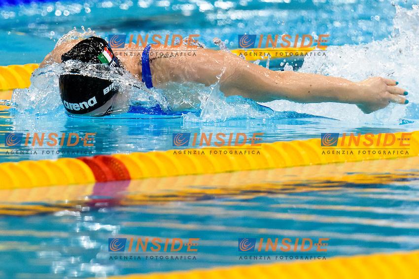 Ilaria BIANCHI ITA  <br /> 50 Butterfly Women <br /> London, Queen Elizabeth II Olympic Park Pool <br /> LEN 2016 European Aquatics Elite Championships <br /> Diving  <br /> Day 08 16-05-2016<br /> Photo Andrea Staccioli/Deepbluemedia/Insidefoto