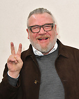 LONDON, ENGLAND - OCTOBER 12: Ray Winstone photocall with Unspoken cast of Veterans, Bravo 22&rsquo;s newest project, a theatre piece that a collaboration of wounded, injured and sick Service personnel, veterans and their families will be perform on Remembrance Sunday (12th November) at the Theatre Royal Newcastle, at Lumen URC, London, England.<br /> CAP/JOR<br /> &copy;JOR/Capital Pictures