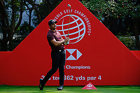 Jason Day (AUS) during the Pro-Am at the WGC HSBC Champions 2018, Sheshan Golf CLub, Shanghai, China. 24/10/2018.<br />