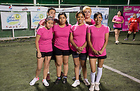 Football match between Tintorera restaurant staff, Mexico City