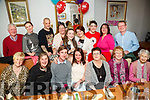 Claire Walsh, Dingle, celebrating her 40th birthday with family and friends at Bella Bia on Friday