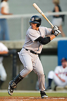 Greeneville Astros catcher Ralph Henriquez stands in to take his swings versus the Danville Braves at American Legion Field in Danville, VA, Saturday, July 1, 2006.