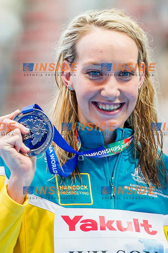 WILSON Madison AUS<br /> 100 Backstroke Women Final Silver Medal<br /> Swimming - Kazan Arena<br /> Day12 04/08/2015<br /> XVI FINA World Championships Aquatics Swimming<br /> Kazan Tatarstan RUS July 24 - Aug. 9 2015 <br /> Photo A.Masini/Deepbluemedia/Insidefoto